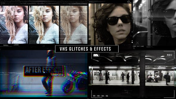 Thumbnail for VHS Glitches Music Video