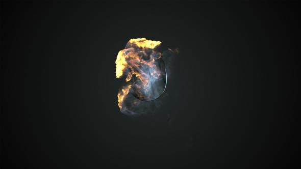 Thumbnail for Elegante logotipo de Fire Explosión.
