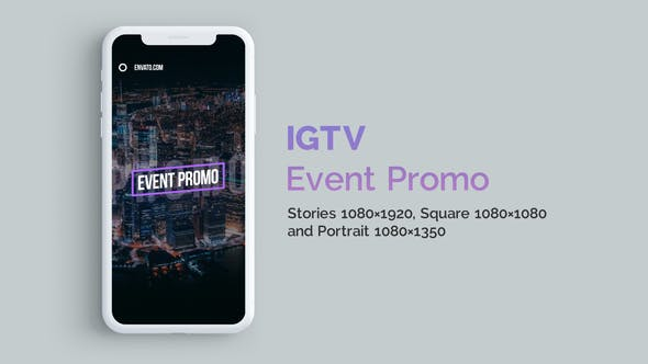 Thumbnail for IGTV — Stylish Event Promo | Vertical and Square
