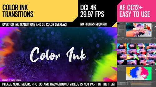 Color Ink Transitions