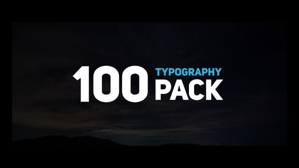 Thumbnail for 100 Typography Slides