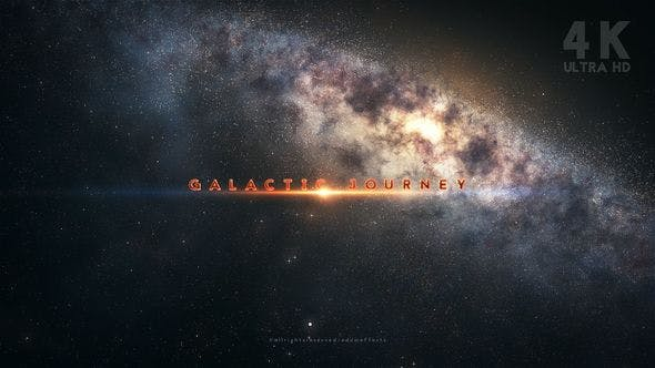 Cover Image for Galactic Journey Title Sequence