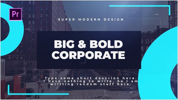 Thumbnail for Big & Bold Corporate