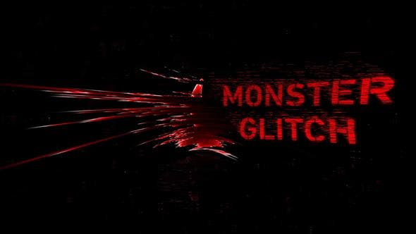 Thumbnail for Monster Glitch Logo Reveal