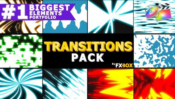 Thumbnail for Dynamic Elemental Transitions | FCPX