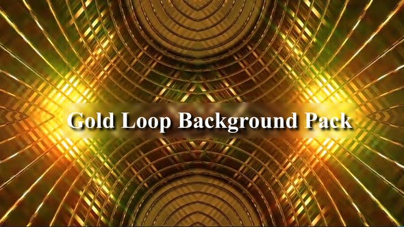 Thumbnail for Gold Loop Background Pack