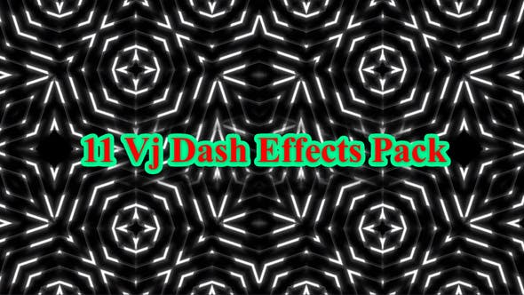 Thumbnail for 11 Vj Dash Effects Pack