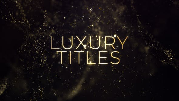 Thumbnail for Luxury Gold Titles
