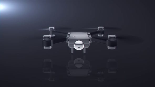 Thumbnail for Drone Logo Reveal