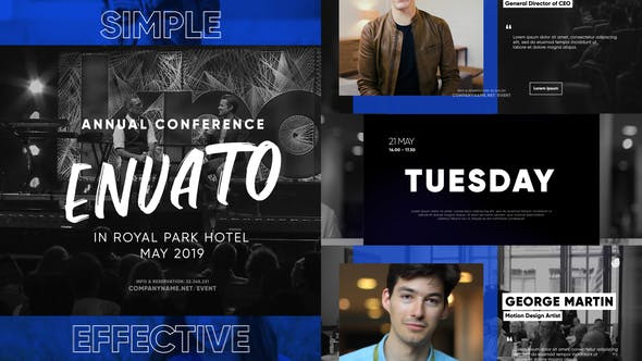 Trendy Event and Conference Promo