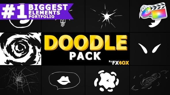 Thumbnail for Flash FX Doodle Elements | FCPX