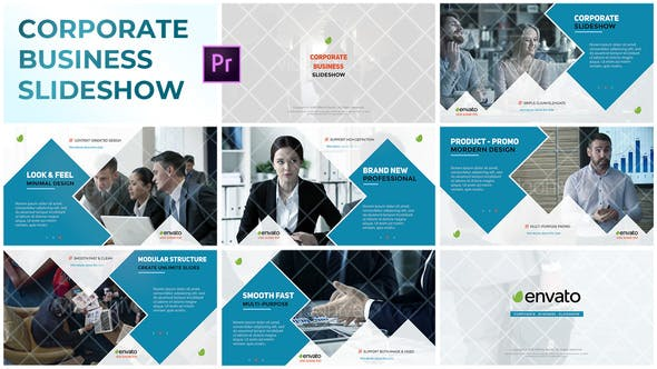 Thumbnail for Corporate Business Slideshow – Premiere Pro