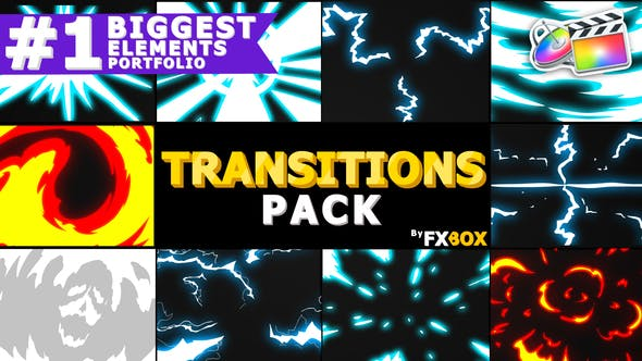 Thumbnail for Dynamic Handy Transitions | FCPX