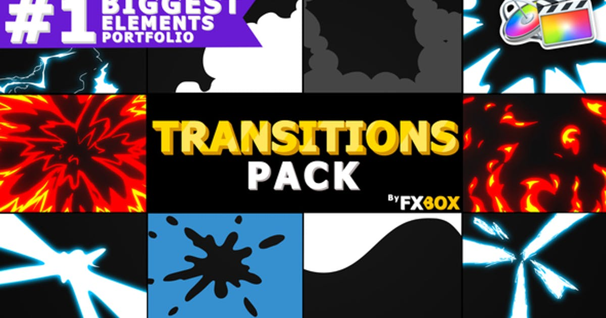 Download Flash FX Extreme Transitions by FlashFXbox