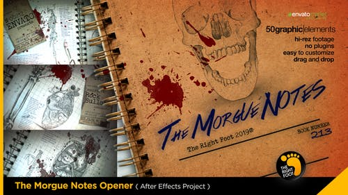 The Morgue Notes Opener