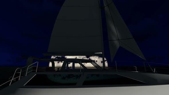 Floating Catamaran