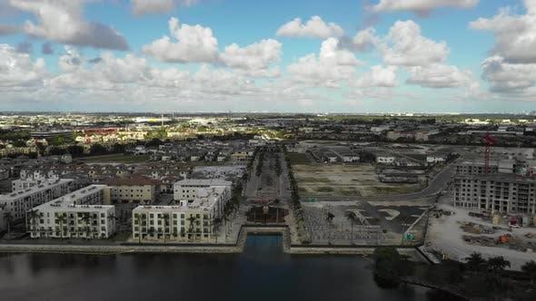 Thumbnail for Aerial clips Doral FL USA