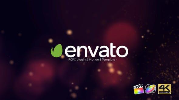 Particle Burst Logo Reveal