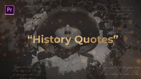 Cover Image for History Quotes