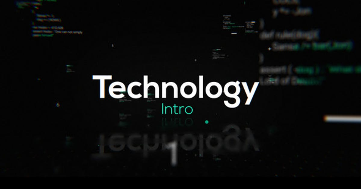 Download Technology Intro by motionshape