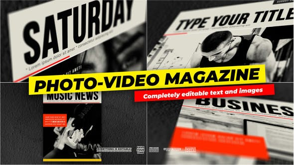 Thumbnail for Photo and Video - Magazine Cover