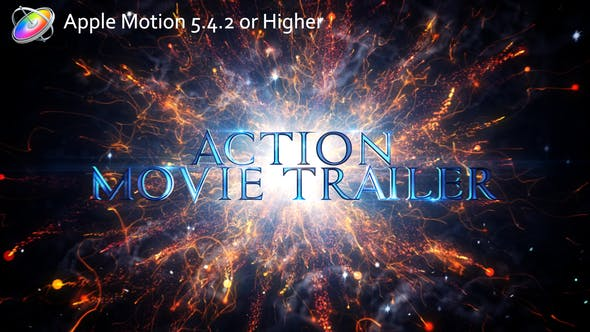 Thumbnail for Action Movie Trailer - Apple Motion
