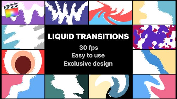 Thumbnail for Flash FX Liquid Transitions | Final Cut