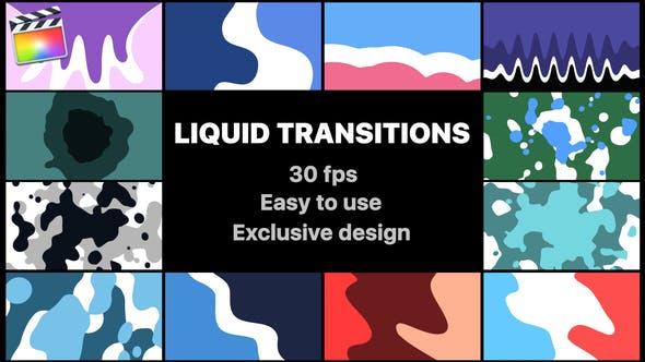 Thumbnail for Liquid Motion Transitions   Final Cut