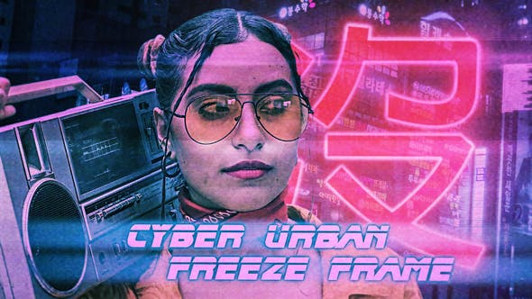 Thumbnail for Cyber Urban Freeze Frame Opener