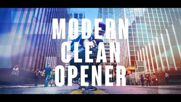 Thumbnail for Modern Clean Opener