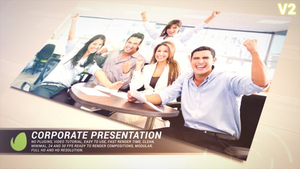 Thumbnail for Golden Corporate Presentation