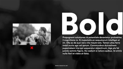 Black Bold Typography
