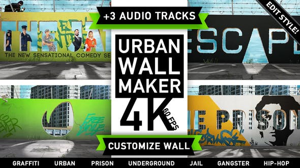 Thumbnail for Urban Wall Kit | Graffiti Street Art