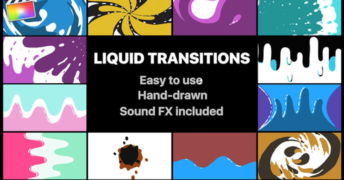 Download Liquid Motion Transitions Pack by MisterFlashAnimation