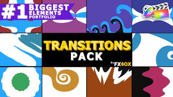 Cover Image for Funny Cartoon Transitions | FCPX