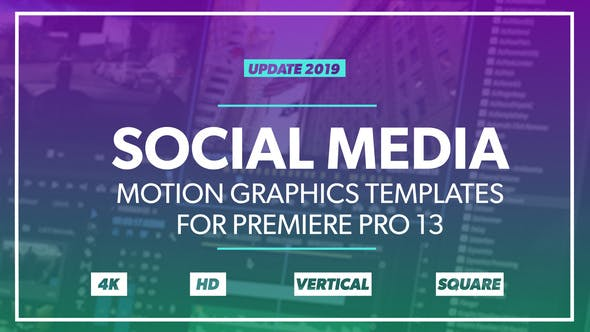 Thumbnail for Paquete de Gráficos de Medios de comunicación Social para cambiar el tamaño automático