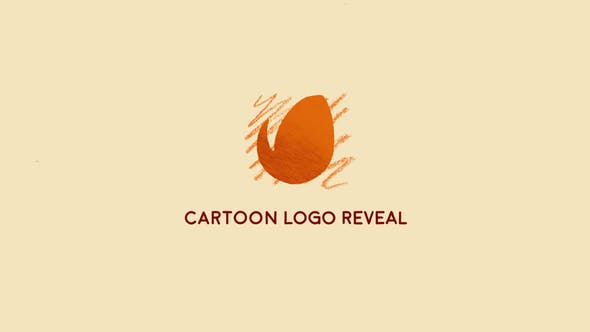 Thumbnail for Cartoon Logo Reveal | After Effects Template