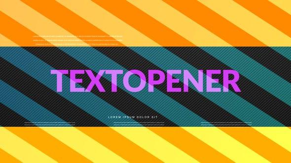 Thumbnail for Abridor de texto dinámico
