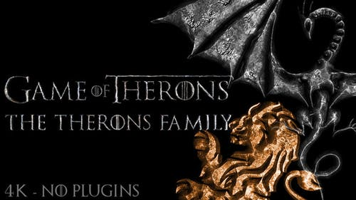 Game of Medieval Thrones Logo, Title Reveal
