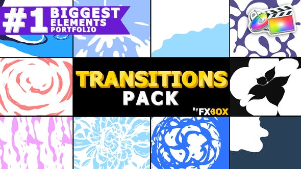 Cover Image for Hand-Drawn Liquid Transitions | FCPX