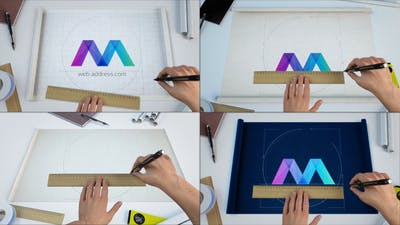 Scroll Blueprints Logo Reveal Bundle