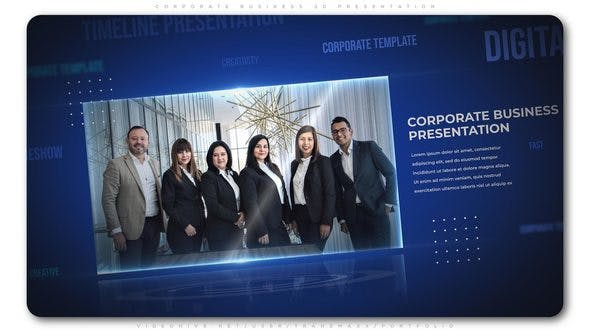 Thumbnail for Corporate Business 3d Presentation