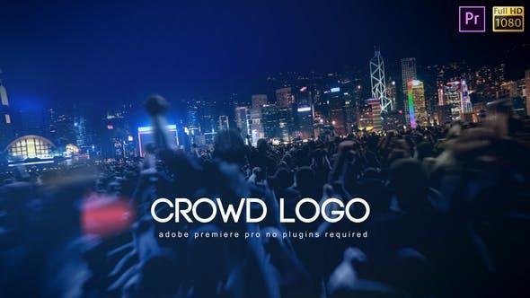 Thumbnail for Crowd Logo - Premiere Pro