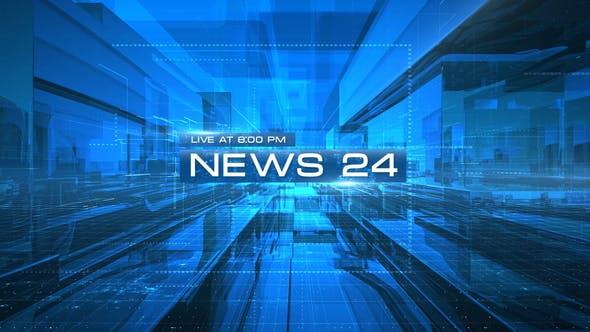 Thumbnail for News 24 Opener