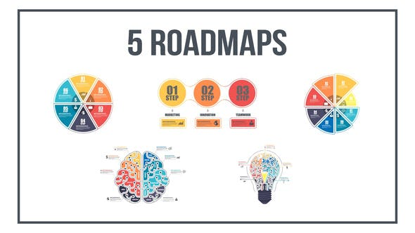 Thumbnail for Infographics Roadmaps №1