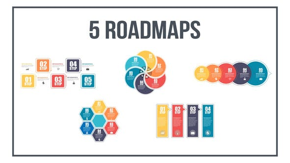 Thumbnail for Infographics Roadmaps №3