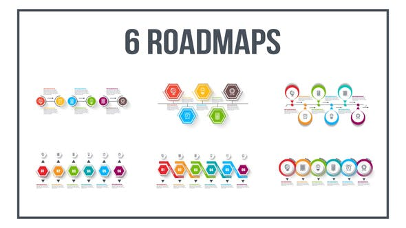 Thumbnail for Infographics Roadmaps №4