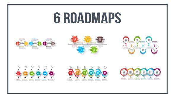Infographics Roadmaps №4
