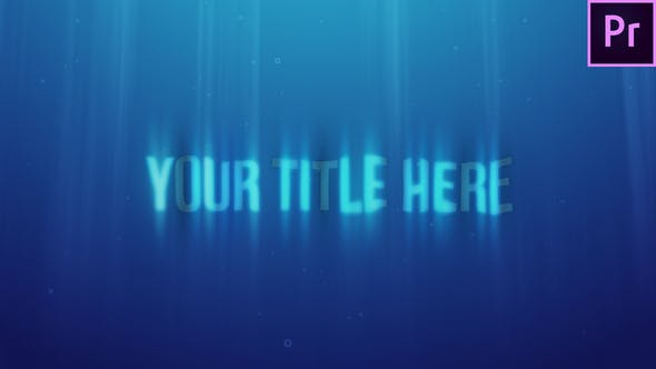 Thumbnail for Underwater Title Reveal