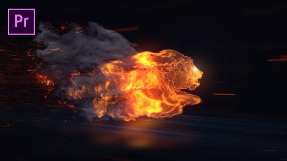Thumbnail for Lion Reveal - Premiere Pro